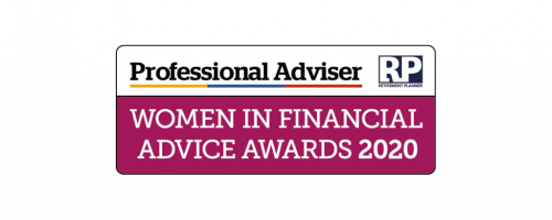 Vicky Pearce proud finalist in the Professional Adviser Women in Financial Awards 2020